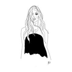 Sometimes staying is braver than going.  fashionillustration, model, black and white drawing, lineart, line art, line drawing, muse, musings, instagram, pretty, girl, artist, sketch, sketch art, flow, flowsofly