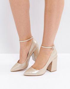 asos pipeline pointed block high heels