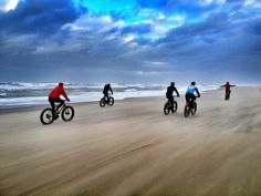 Fat-Bikes, Beach Tours & Coffee in The Hague.