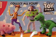 Toy Story (1995) | The 11 Most Memorable Burger King Kids Club Toys Of The '90s