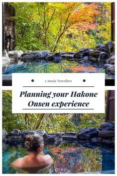 Planning your Hakone onsen experience.  Options for enjoying onsen in Hakone, an easy day trip from Tokyo. Plus lots of tips to help you understand the rules and enjoy your first onsen experience #Japan #Onsen #Hakone