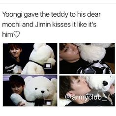 Tell me yoonmin isn't real. Come at me. When people ship tae and hobi or Namjoon and jimin I'm like why you gotta break up the good ships?
