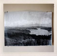 Astoria Overlook Large Format Print  by HANDSworkshop $25