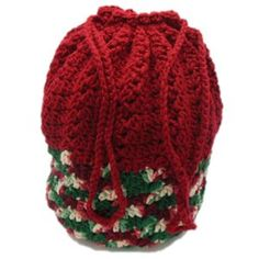 Free Crochet Pattern, Christmas Gift Bag Designed by Julie A. Bolduc Date Added: December 8, 2013