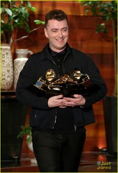 Sam Smith Needs His Grammys to Be Polished By His Future Boyfriend
