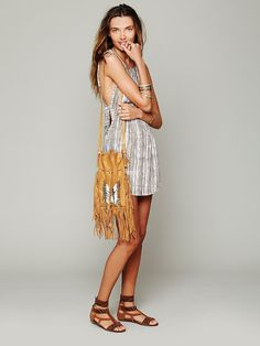 Tallow for Free People Tanzania Tie Dress