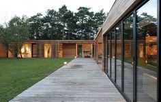 Johan Sundberg designed the Bergman Werntoft House in Mossvägen, Ljunghusen, Sweden.