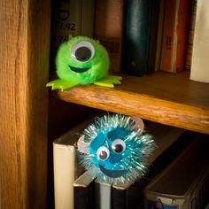 Disney Pixar Monsters Inc. Mike and Sulley Hide & Go Shriek Craft