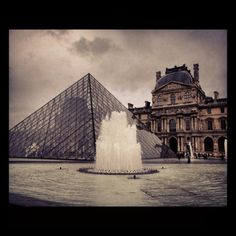 Getting excited about Europe Winter trips which are just around the corner! Who is excited to see the Louvre in Winter lights this year?
