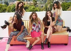L to R: camila, normani, ally, lauren, dinah Fifth Harmony Style, Fith Harmony, Ally Brooke, My Girl, Cool Girl, Cimorelli, Spice Girls, Wet Seal, American Girl