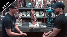 Behind the scenes tour of Sideshow Collectibles with Tested.com