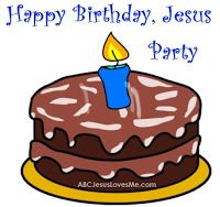 Our Out-of-Sync Life: Christmas Traditions: Happy Birthday Jesus Party