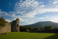 Abergavenny Castle, South Wales, UK.  NANNY lived near Abergavenny.  SO...I would think that many of our family  members have been to this castle.