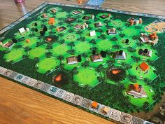 """46 Likes, 1 Comments - Allen O (@van_uber) on Instagram: """"The end of our first game of Tikal #bgg #boardgamegeek #boardgames #tabletop #tikal"""""""