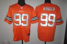 Cleveland Browns #99 Paul Kruger Orange Elite Jersey   RePinned by : www.powercouplelife.com