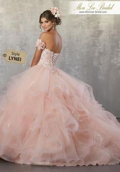 Quinceanera dresses pink - Vizcaya by Mori Lee 89174 Floral Applique OffShoulder Tulle Gown – Quinceanera dresses pink Quince Dresses, Ball Dresses, 15 Dresses, Ball Gowns, Pageant Dresses, Dresses Online, Mori Lee Quinceanera Dresses, Turquoise Quinceanera Dresses, Quinceanera Party