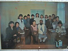 Acharya Girish Jha with medical doctors attended personal transformation program, Ulanbatar, Mongolia in 1993