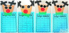 Reindeer Ruckus: Students created shape reindeer. Fun way to review shapes.