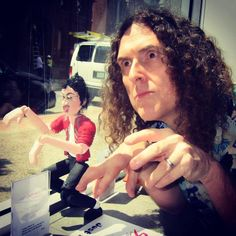 "Bid on a ""Weird Al"" Marionette and help the Youth Art Connection  http://www.mjvibe.com/bid-on-a-weird-al-marionette-and-help-the-youth-art-connection/"