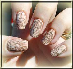 Wood #nail #nails #nailart
