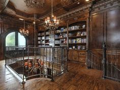 Traditional Library - Found on Zillow Digs. What do you think?