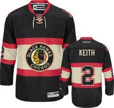 Chicago Blackhawks Duncan Keith 2 Black Authentic Jersey Sale