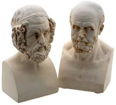 Homer and Aristotle Bookends, Set of 2  from Barnes & Noble