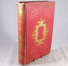 Antique Victorian Novel WAIT AND SEE by Artist Susanna Paine 1860 Book