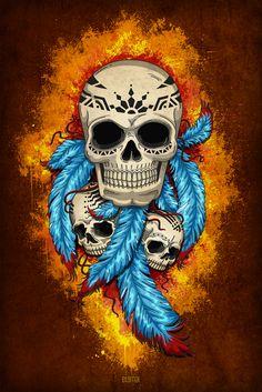 Tribal skulls                                                                                                                                                                                 Más
