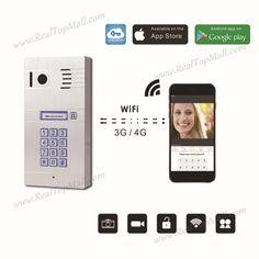 Wireless Wifi IP Video Door Phone Doorbell Door bell Video Intercom HD Camera Motion Sensor Remote Control by Smartphone Tablets #Affiliate