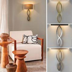 Caserta Vegglampe u/Skjerm Candle Sconces, Nightstand, Wall Lights, Candles, Table, Furniture, Design, Home Decor, Bedside Desk