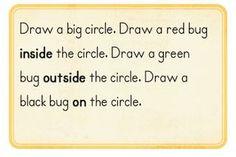 Kindergarten position words lessons Positional Words Kindergarten, Kindergarten Math Journals, Preschool Curriculum, Preschool Math, Teaching Kindergarten, Math Classroom, Math Activities, Math Problem Solving, Math Notebooks