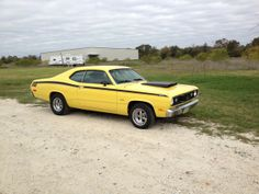 Classic Plymouth Duster for Sale Plymouth Valiant, Plymouth Duster, Dodge Chrysler, Mopar Or No Car, Evening Sandals, Road Runner, American Muscle Cars, Collector Cars, Cool Cars