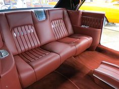 1961 Cadillac Caddy custom leather interior ( Interiors by Shannon )