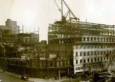 NWS PAUL HEAPSMemories from Lewis's department store in Liverpool. The rebuild of the store