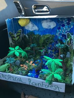 Biome Tropical rainforest project Rainforest Ecosystem, Rainforest Crafts, Rainforest Project, Rainforest Activities, Rainforest Habitat, Biome Project, Reading Projects, Science Projects For Kids, Rainforest Classroom