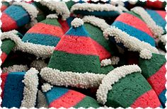 Elf Hat Cookies - ad