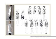 UAL: Portfolio – Portfolio for UAL students Portfolio Layout, Portfolio Design, Portfolio Ideas, Fashion Sketchbook, Fashion Sketches, Fashion Illustrations, Portfolio Fashion, Structured Fashion, Sketchbook Layout