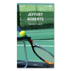 Shop Creative Tennis Coach Tennis Trainer Business Card created by CardHunter. Personalize it with photos & text or purchase as is! Tennis Clubs, Tennis Players, Custom Business Cards, Business Card Design, Creative Business, How To Play Tennis, Tennis Trainer, Tennis Serve, Tennis Party