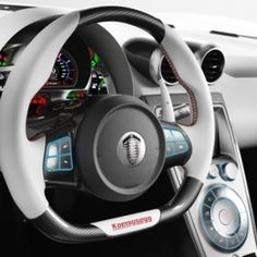 Koenigsegg Agera R Interiors