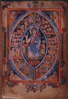 Medieval Manuscript, Illuminated Manuscript, St Cornelius, Saxon Chronicles, Anglo Saxon Chronicle, Anglo Saxon Kingdoms, Carolingian, British Library, British Museum