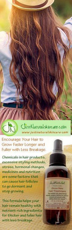 Shop at http://www.justnaturalskincare.com/hair-grow-new-hair/grow-new-hair-treatment.html