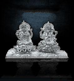 Lakshmi Ji & Ganesh Ji on Bark