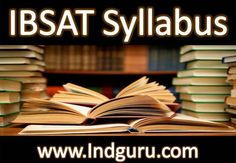 Candidates, willing to crack the IBS Aptitude Test Entrance Exam, necessitate knowing about IBSAT Syllabus along with complete exam pattern. For the better preparation of the students, we have presented the syllabus of various courses. Individuals can also download the IBS Aptitude Test Entrance Syllabus with the help of guidelines, presented on this page:-http://indguru.com/2017/ibsat-syllabus/33537/