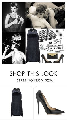 """""""20 years!!!!!"""" by simoegiangy ❤ liked on Polyvore featuring Abito, Mangano, Jimmy Choo and Kate Spade"""