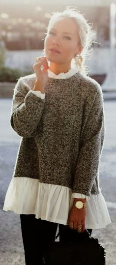Knits are HUGE for Fall. Check it out on the blog. The Closet Coach