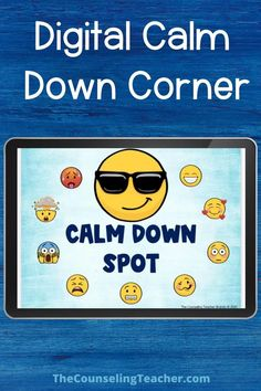 digital calm down corner Elementary School Counseling, School Social Work, School Counselor, Social Emotional Activities, Social Emotional Development, School Leadership, Educational Leadership, Educational Technology, Calm Down Corner