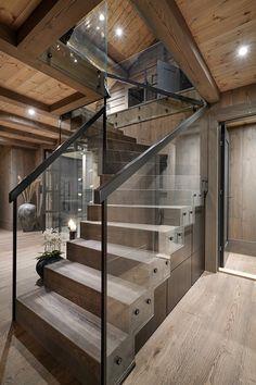 Diy Tools, Decoration, Home Interior Design, Stairs, Farmhouse, House Design, Architecture, Inspiration, Cabin Ideas