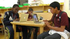 With the advances that technology has made in the last few years a concern is raised for kids who live in low-income households and their ability to be more than just consumers in the digital world.  In a tech café students at the Island school from New York are on laptops creating their next blog posts on social issues.  This article shows how society is pushing for everyone, even those who cannot afford computers to have the skills to compete with their peers for jobs.  Chanel W.