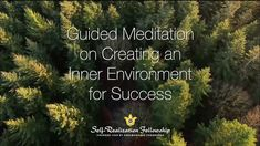 This guided meditation on success uses an affirmation from Paramahansa Yogananda's Scientific Healing Affirmations. Through simple scientific methods of medi. Relaxation Meditation, Guided Meditation, Spiritual Eyes, Healing Affirmations, Self Realization, Peaceful Places, Scientific Method, Spirituality, Environment